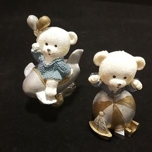 Sister & Brother bear, set of 2 EUC